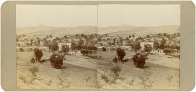 Panorama del pueblo de Santa Bárbara