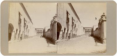 Callejón en donde fue herido el Sr. Juan Antonio Larrinúa