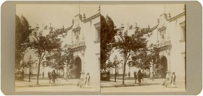 Liceo de Varones en donde estuvieron algunos presos