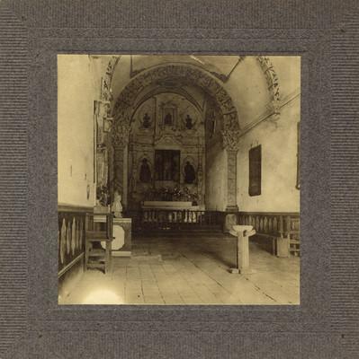 Interior de la capilla de Corralejo