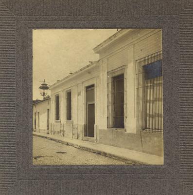 Primer casa en la que habitó Hidalgo, fachada