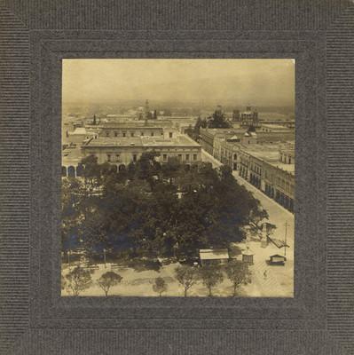 Plaza Principal de Morelia, vista panorámica