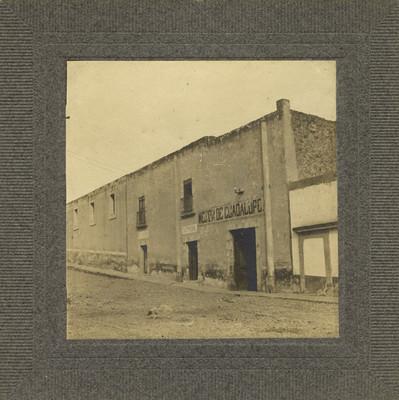 """""""Mesón de Guadalupe"""", fachada"""