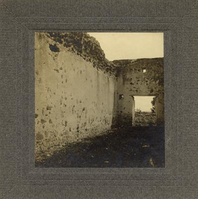 """""""Ruinas en Santa Barbara"""", vista parcial"""