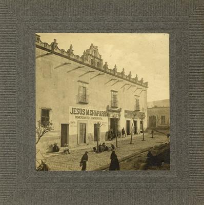 Casa donde se alojan las tropas en Sn Miguel de Allende