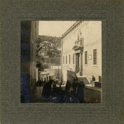 Calle de Mendizábal, una de las convergentes a Granaditas