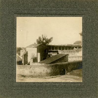 Una de las casas donde se alojan las tropas en Aculco