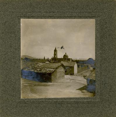Panorama de Tarandacuao por donde pasó [Don Miguel] Hidalgo