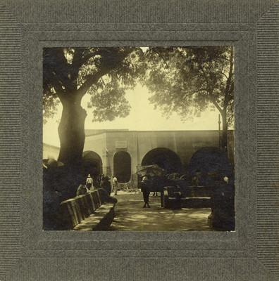 """Plaza desde """"donde arengó [Miguel] Hidalgo a las tropas"""""""