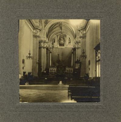 Altar del Santuario de San Juan de los Lagos, interior