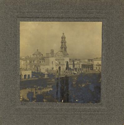 """""""Plaza principal de Aguascalientes"""", panorámica"""