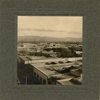 """Poblado de """"Matehuala"""", vista panorámica"""
