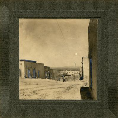 """""""Calle Real de Saltillo"""", vista parcial"""