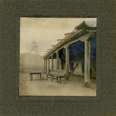"""""""Casa Grande en la Hacienda de Santa María"""", vista exterior"""