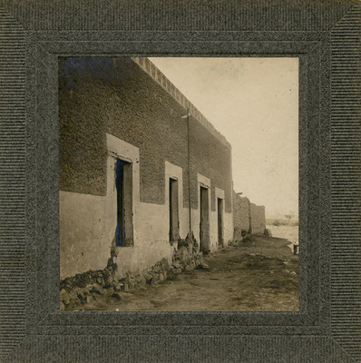 Exterior de la casa en donde se alojó Hidalgo en Mesillas