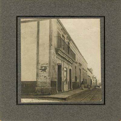 Casa que se cree habitó Hidalgo en Salvatierra