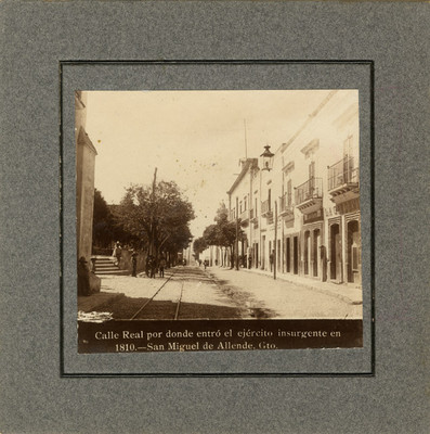 """""""Calle Real"""" en San Miguel Allende, vista parcial"""