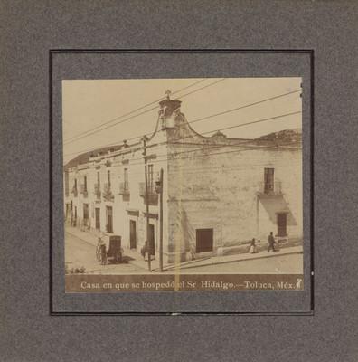 """Casa donde se hospedó Hidalgo"", vista exterior"