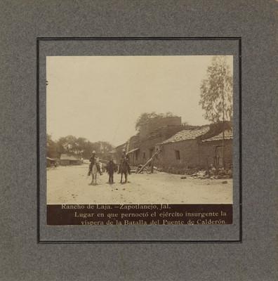"""""""Rancho de Laja"""", vista parcial"""