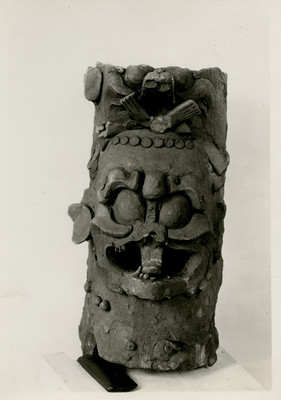Incensario prehispánico maya