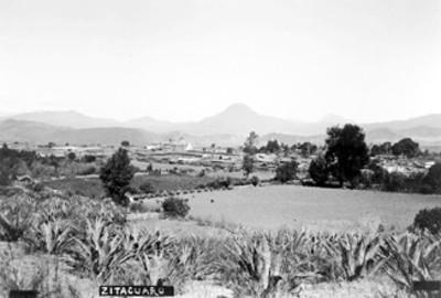 """""""Zituacuaro"""" panorámica del poblado"""