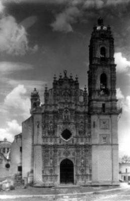 Iglesia de Tepotzotlán, portada