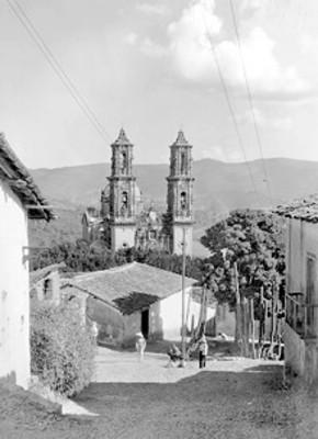 Vista del Templo de Santa Prisca