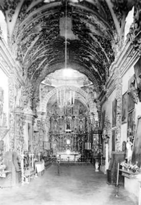 Altar estilo barroco, vista parcial