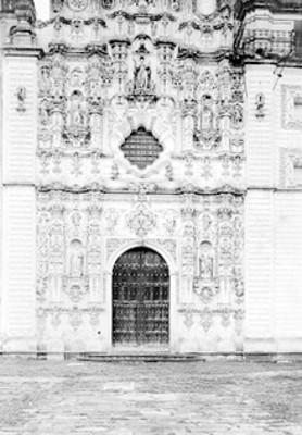 Fachada de la Iglesia de Tepotzotlán