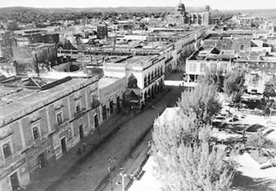 Vista panorámica de una ciudad