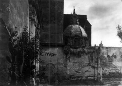 Convento de Churubusco, vista lateral