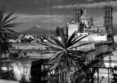 Catedral de Puebla, vista posterior