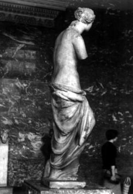 Venus de Milo, vista de costado