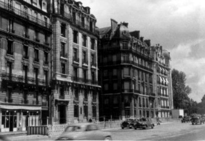Fachadas de edificios en la Avenida Roosevelt