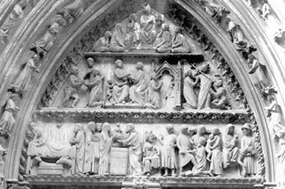 Tímpano septentrional de Notre Dame