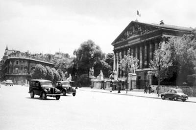 Fachada del edificio de La Asamblea Nacional