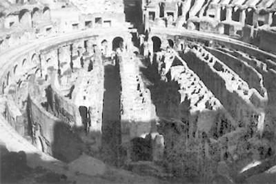 Coliseo Romano, panorámica