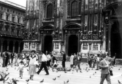 Atrio de la Catedral de Milán