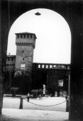 Palacio de los Sforza, patio