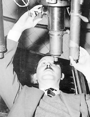 Guillermo Haro, directo del Observatorio de Tacubaya