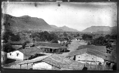 Casas del pueblo, panorámica