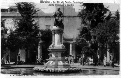 """Vista del """"Jardín de Santo Domingo"""""""