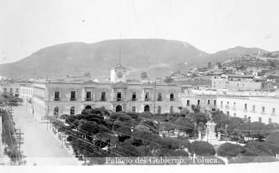 """""""Palacio del Gobierno. Toluca"""", tarjeta postal"""