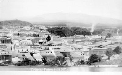 """Toluca. panorámica"", tarjeta postal"
