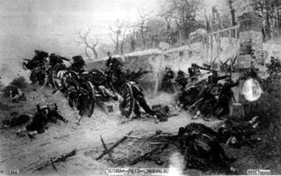 Soldados en la Defensa de la Puerta de Longboyau