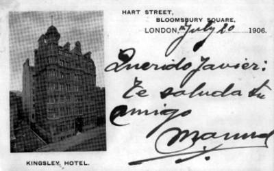Vista del Hotel Kingsley en Londres