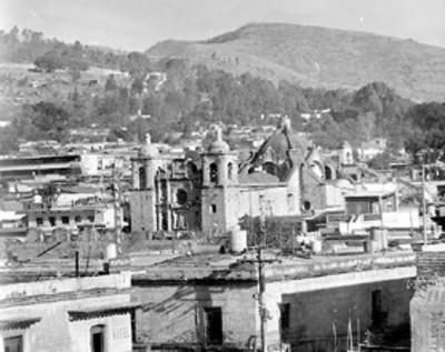 Basílica de la soledad, vista parcial