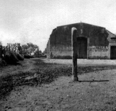"""""""Una de las caleras"""" en el """"Rancho San Pedro del Monte"""", vista parcial"""