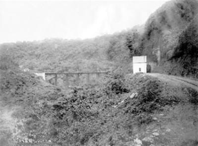 """""""699.Túnel 9 y Puente"""" del """"F.C.M."""""""