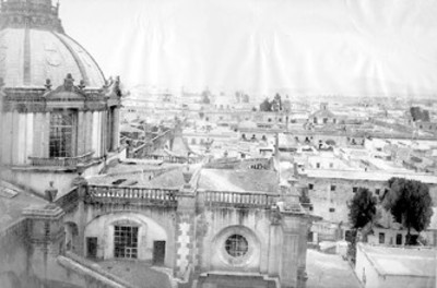 """N°. 234 Panorama of Mexico"", vista parcial"